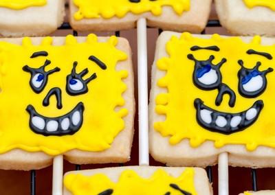 Spongebob Cookies - Ine's Cakes