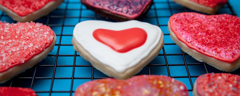 Ine's Cakes Valentine Cookies