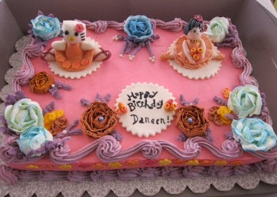 Decorated Cake - Ine's Cakes