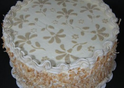 Coconut Cake - Ine's Cakes