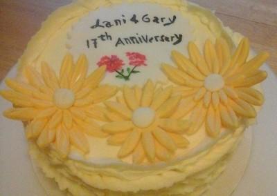 Anniversary Cake - Ine's Cakes