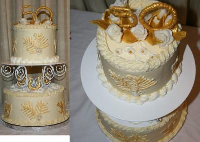 Ine's Cakes Anniversary Cake
